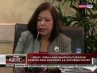 QRT: PNoy, tiwalang maipapatupad ni Sereno ang reporma sa Supreme Court
