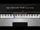 Super Mario Land - World 1 [Easy Piano Tutorial]