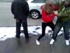 Alexis Allison and Alexus Jessen fight 2013