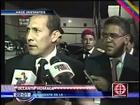 Ollanta Humala y Nadine Heredia llegaron a Caracas para funeral de Hugo Chávez