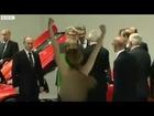 Topless women in anti-Putin demo