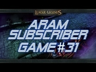 LoLPoV - ARAM Subscriber Game #31 [Talon] (League of Legends Live Commentary)