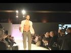 MALE MODEL FALLS IN FASHION SHOW