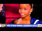 Quvenzhane Wallis Piers Morgan Red Carpet Oscars Interview Too Cute Best Actress Nominee