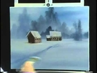 Bob Ross and  The Joy of Painting   A windblown road from DVD #D2714D)