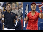 Battle of the Sexes: Li v. Djokovic -- Date-Krumm's Japanese Commercial -- Funny US Open Moments
