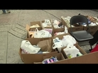 Six Flags holds food drive for Newtown