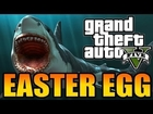 GTA 5 - 'Hidden Shark' EASTER EGG! - (Where To Find The SHARK!)
