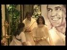 Amitabh Bachchan at Rajesh Khanna's chautha.