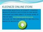 Kleeneze Online Home Shopping