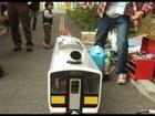 Gas turbine model train at Tokyo Make Meeting 06