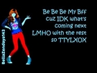 Bella Thorne - TTYLXOX (Lyrics On Screen) Full Song