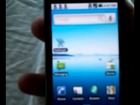 galaxy s running normal android 2.1