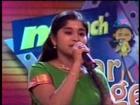 Munch Star Singer Sreelakshmi Marks