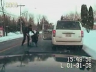 Dash Cam: Mom tasered in front of her kids in New York