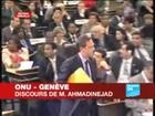 Discours de Mahmoud Ahmadinejad -ONU