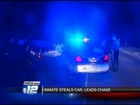 Multi-county chase after double murder suspect steals vehicle