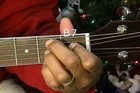 How To Play Blue Christmas Elvis Presley On Acoustic Guitar EEMusicLIVE